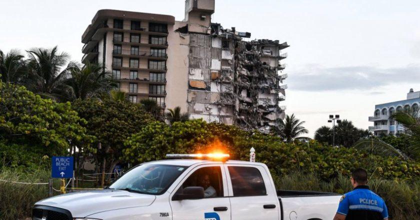 फ्लोरिडामा १२ तले आवासीय भवन भत्किँयो