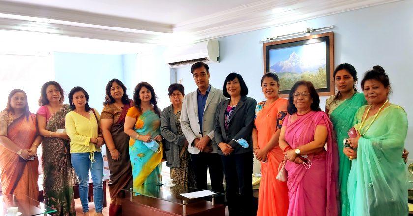 उर्मिला श्रेष्ठको सभापतित्वमा नेपाल महिला चेम्बर कार्य समिति गठन